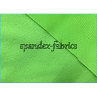 Quality Green Polyester Tricot Clinquant Velvet Fabric for Shoes Lining / Uniform wholesale
