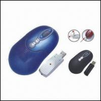 Quality Rechargeable 5-button RF Mouse with Mini USB Receiver wholesale