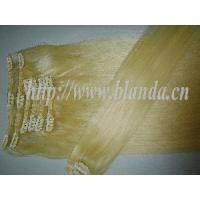 China 2012 New Clips on Hair Weaving Extention on sale
