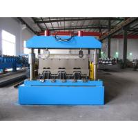 Quality 0-15m/Min Floor Deck Roll Forming Machine 0.8-1.5mm  Thickness With Coil Car wholesale
