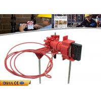 China Industrial ABS Gate Valve Lockout Device Double with Control Arm 647g Weight on sale