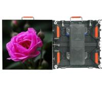 China Full Color SMD P3.91 Outdoor Advertising LED Display 1R1G1B Simple Structure on sale