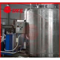 Quality SUS304 / SUS316 Full-Automatic Ice Water Tank Tri-Clamp Connection wholesale