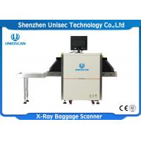 Quality Dual Energy X Ray Baggage Scanner , Security Inspection Equipment 0.22m/S Conveyor Speed wholesale