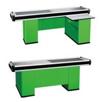 Quality Retail Automatic Supermarket Electronic Cash Register With Stainless Steel Table wholesale