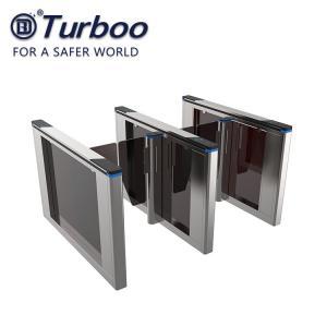 Quality Office Security Entrance Swing Turnstile Barrier Gate RFID Card Reader wholesale