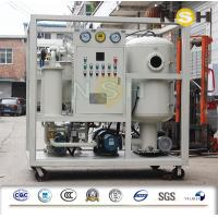 Quality 380V 50HZ Insulating Oil Purifying Machine Physical Chemical Methods wholesale