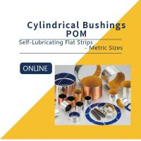 China Flat Strips Carbon Steel Bronze POM Strips Composite Bearings Cylindrical Bushings DIN 1494 on sale