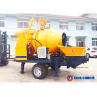 China Hydraulic Valves Concrete Mixing And Pumping Machine , JBS40 Electric Concrete Pump on sale