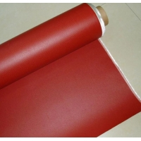China 5MM Impregnated Silicone Coated Fiberglass Fabric on sale