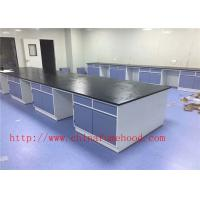 Quality Medical lab Cabinet Production Laboratory Central Bench For Oversea University wholesale