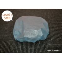 China Elasticated Edge Pharmaceutical Non Woven Surgical Head Cover on sale