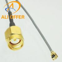 China High Quality IPX u.fl Switch RP-SMA Male Pigtail with 1.13mm Cable 15cm For PCI Wifi Card Wireless Router on sale