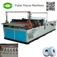 Quality Low price semi automatic maxi roll paper slitting rewinding machine wholesale