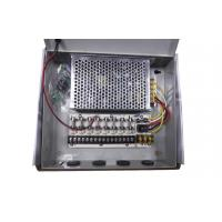 Quality 12V 5Amps CCTV Power Supply Box 9 Channel , CCTV Camera Power Supply wholesale