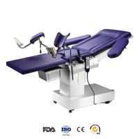 Cheap Stainless Steel Electro Hydraulic Operating Table With Mattress For Gynaecology for sale