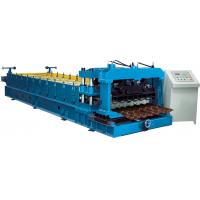 Quality Cr12 Mould Steel Cutter Glazed tile roll forming machine 5.5KW ISO9001 with high production speed wholesale
