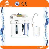 Quality Residential / Household Reverse Osmosis Water Systems Plastic With Pressure Gauge wholesale