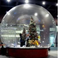 Quality Snow Globe / Crystal Ball Inflatable Bubble Tent For Christmas Activities wholesale