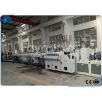 Quality CPVC Pipe Making Machine Production Line Double Screw High Production Efficiency wholesale