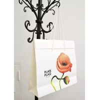 Quality Folded gift paper bag with high quality material & beautiful printing wholesale
