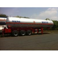 China 3x13T BPW Axle Stainless Steel Liquefied Gas Tanker Truck 10,435 US Gallon on sale