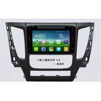 Quality 8 Inch Mitsubishi Car DVD 1080P Hd And 3D Background RAM1G DDR3 , Android Car Head Unit wholesale
