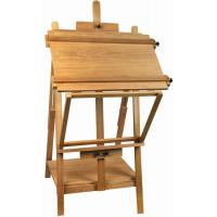 Quality Portable Table Top Painting Easels For Large Frame , Tabletop Drawing Board Easel 128cm Height wholesale