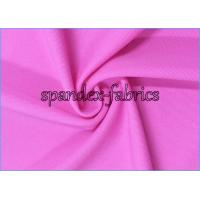 Quality Fuxia 220gsm Nylon Spandex Fabric for Swimwear / Dancewear / Cycling Clothes wholesale