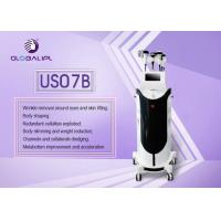 Quality 7 In 1 Vacuum Liposuction Ultrasonic Cavitation Slimming Machine With MEdical CE wholesale
