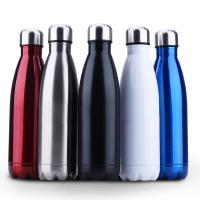 China Insulated Stainless Steel Water Bottle , Cola Shape Vacuum Sport Bottle on sale