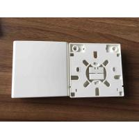 Quality SC 2 Ports Fiber Distribution Box Indoor Faceplate 86 Type For Networking wholesale