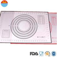 Quality No Space Occupation Silicone Baking Sheet , Easy To Dry Non Stick Baking Mat wholesale