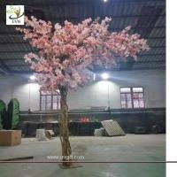 Quality UVG 11ft high pink color artificial cherry blossom trees for weddings CHR157 wholesale
