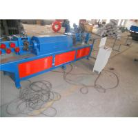 China High Speed Wire Straightening And Cutting Machine , Wire Mesh Cutting Machine Zero Error on sale