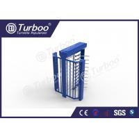 Quality Electric Magnetic Lock Full Height Turnstile , High Security Turnstile wholesale