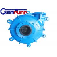 Buy cheap 8/6 E-AH Single Stage Centrifugal Pump / Warman Pump Parts from wholesalers
