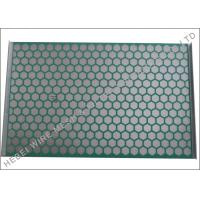 Quality Flat PWP Solid Control Shaker Screen Panel Hookstrip Tension ISO Approval wholesale
