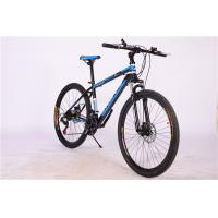 Quality Hot sale OEM 21 speed double wall rim black hi ten steel mountain bicycle with suspension wholesale