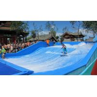 China Big Surfing Blue Fiberglass Water Slide / Water Park for 2 - 4 Adult Person on sale