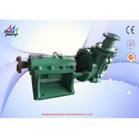 Quality Single Stage , Single Suction , Centrifugal Rubber Lined  , Carbon Steel Nickel Chromium Steel Rubber Lined Slurry Pump wholesale