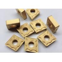 Quality RK7025 CNMG190612 DM Carbide Cutting Inserts Yellow Color For CNC Cutting Tool wholesale