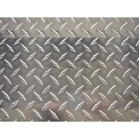 Quality Alloy 3003 Aluminium Chequer Plate Sheet , Aluminum Diamond Tread Plate For Building Floors wholesale