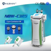 China Beauty Equipments Cavitaion RF Weight Loss Fat Freezing Cryolipolysis slimming for sale