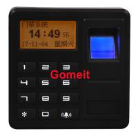 Quality Fingerprint Standalone Keypad Access Control ABS Plastic 8 Users Password Capacity wholesale