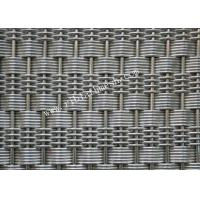 China Bronze Crimped Architectural Building Decorative Wire Mesh of Stainless Steel on sale