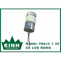 China 12V 1.5L / M Mini DC Air Pump Continuously Working Day And Night on sale