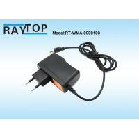 Quality AC To DC Wall Mount Power Adapter 9V 1A Over Voltage For Router , 100-240Vac wholesale