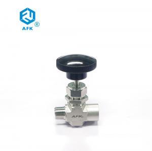 China 3000PSI 6000PSI 1/8NPT F Ss316 High Pressure Needle Valve on sale