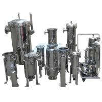Quality Sugar Water Filter / Syrup Filter / Resin Filter Ss304 Single Bag Filter For Waste Vegetable Oil Factory wholesale